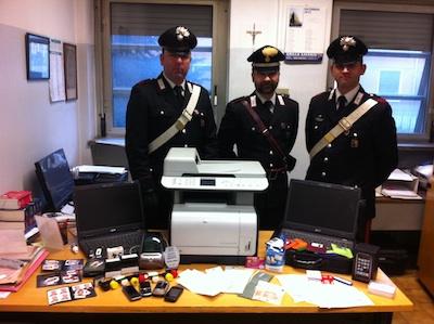 carabinieri truffa bollate