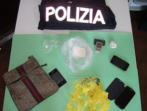 cocaina polizia caravarte