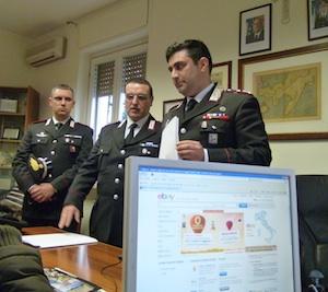 ebay carabinieri foto