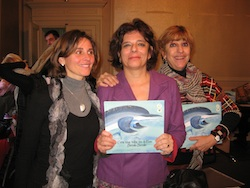 da sinistra Giulia Re, Emanuela Nava, Patrizia Zerbi di Carthusia