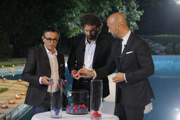 I tre giudici di Masterchef: Bruno Barbieri, Carlo Cracco, Joe Bastianich