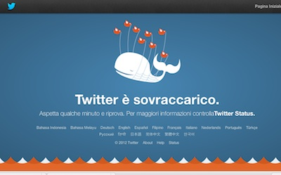 twitter sovraccarico