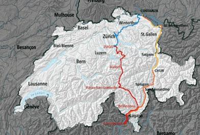 Lago Di Costanza Germania Cartina.Da Germignaga A Costanza Sulla Graziella Delle Meraviglie Verbanonews