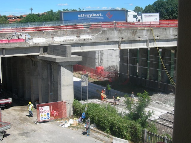 lavori ferrovia gazzada luglio 2013