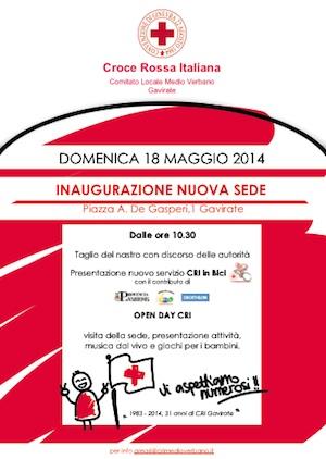 croce rossa italiana inaugurazione