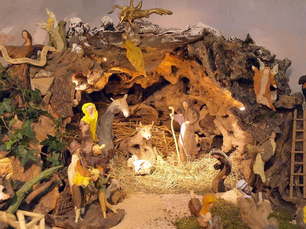 Presepi Di Natale Originali.Una Mostra Con I Presepi Di Radici