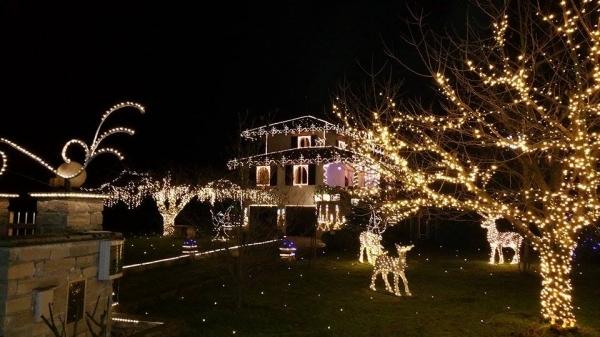 Illuminazione casa esterno natale luci natale per esterno casa