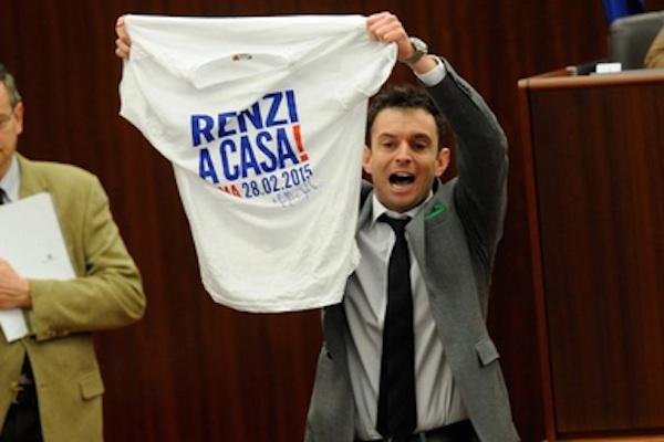 maglietta renzi regione
